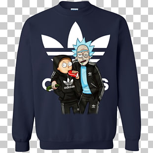 camiseta rick sanchez sudadera morty smith adidas, camisa