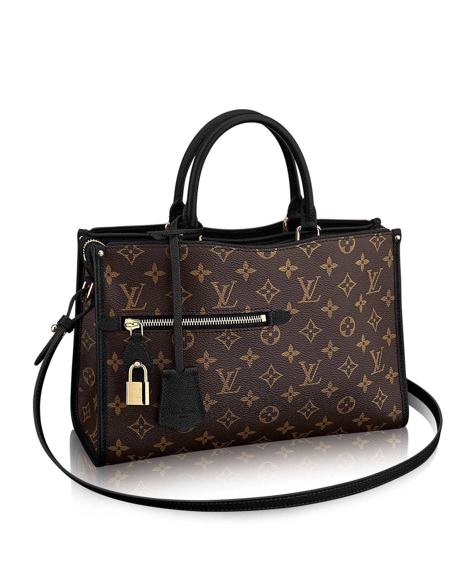 28784b19891 Louis Vuitton Popincourt MM Monogram Handbag