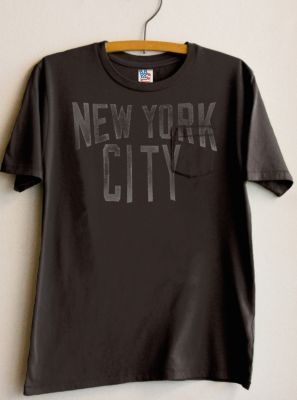 Kids Boys New York City Vintage Inspired Solid Pocket Tee  $32   @ http://www.junkfoodclothing.com