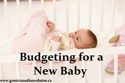 If you have a baby about to make an arrival in the near future it's time to begin thinking about budgeting