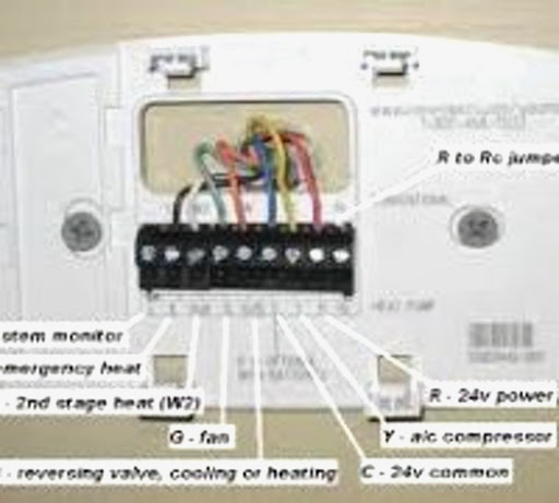 how to wire a honeywell thermostat with 7 wires  google