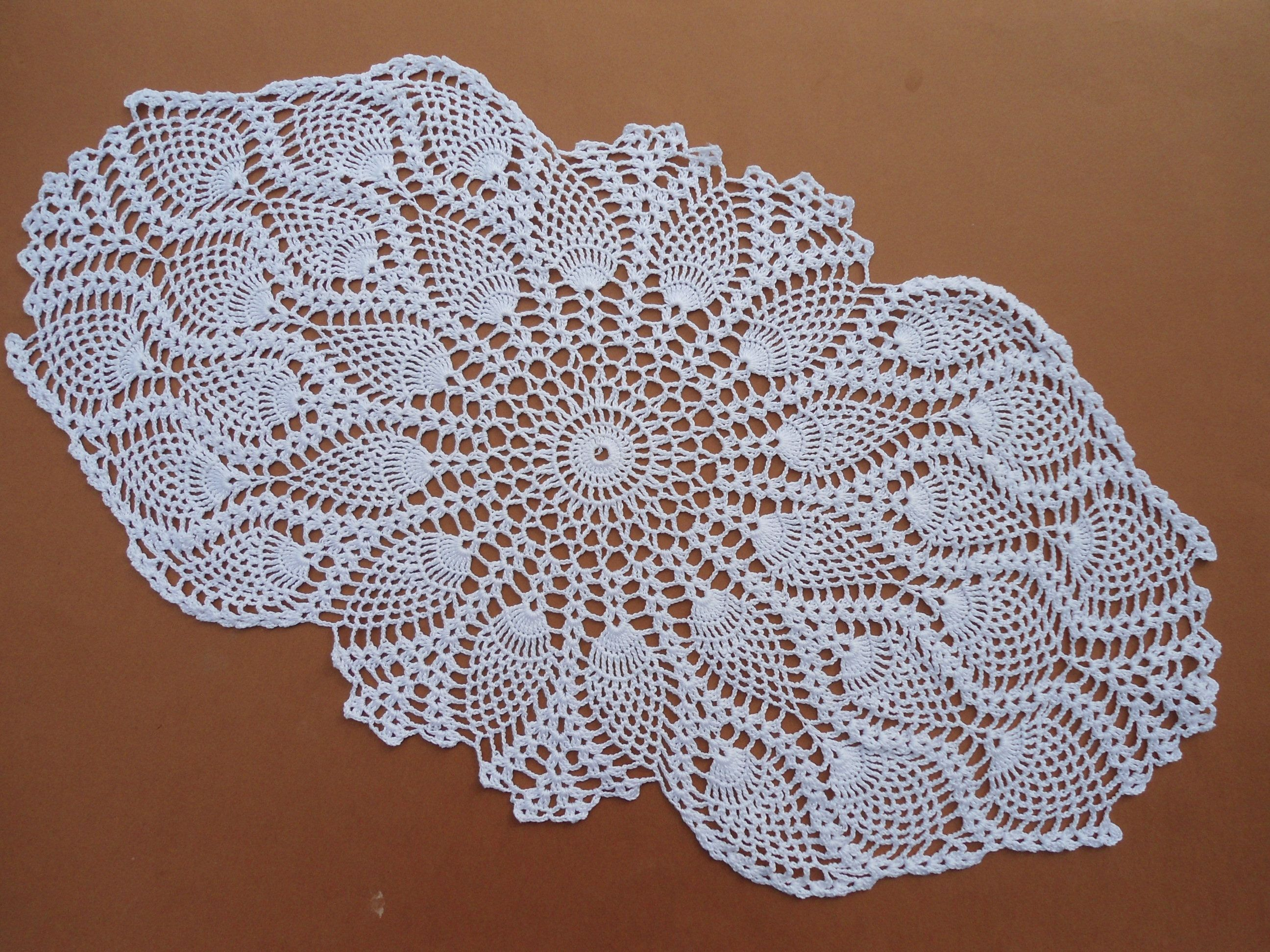 Crochet exquisite openwork napkins for home. Detailed pattern with a pattern and description for beginners