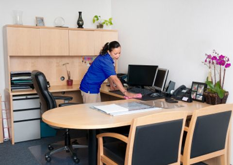 Do You Have An Office That Needs To Be Cleaned Regularly? Contact Maid  Brigade Of
