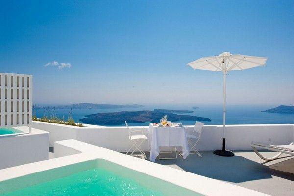 Designhotel Grace Santorini : Grace santorini hotel majestic hotel overlooking