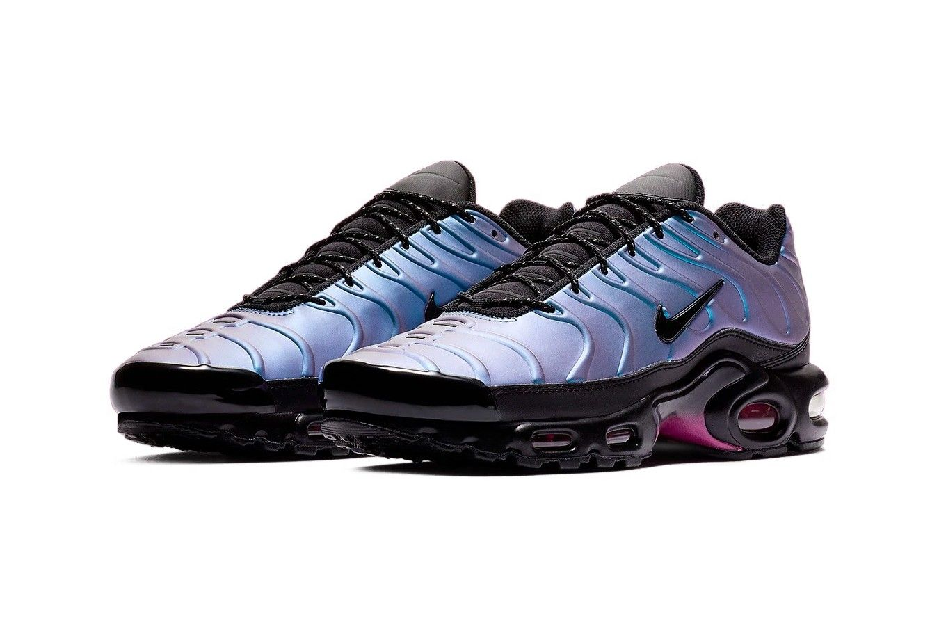 """Nike's Air Max Plus Is the Latest to Receive a """"Laser"""
