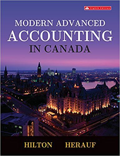 modern advanced accounting in canada canadian 8th edition hilton rh pinterest com General Accounting Procedures Manual Centralized Accounting