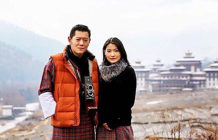 """""""Our happiness knows no bounds, as we announce the Royal Birth of His Royal Highness The Gyalsey on 5th February 2016. Our Prince, the first Royal Child of…"""""""