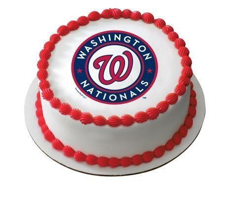 "2"" Round ~ MLB Washington Nationals Baseball ~ Edible Image Cake/Cupcake Topper!!!, http://www.amazon.com/dp/B00BMATLV6/ref=cm_sw_r_pi_awdm_QxMAvb0YRZQ79"