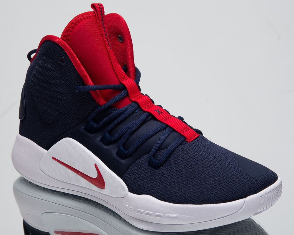 667efd63cb1b Price  US  121.50 Nike Hyperdunk X USA Men s Basketball Shoes Navy Blue  University Red AO7893-400