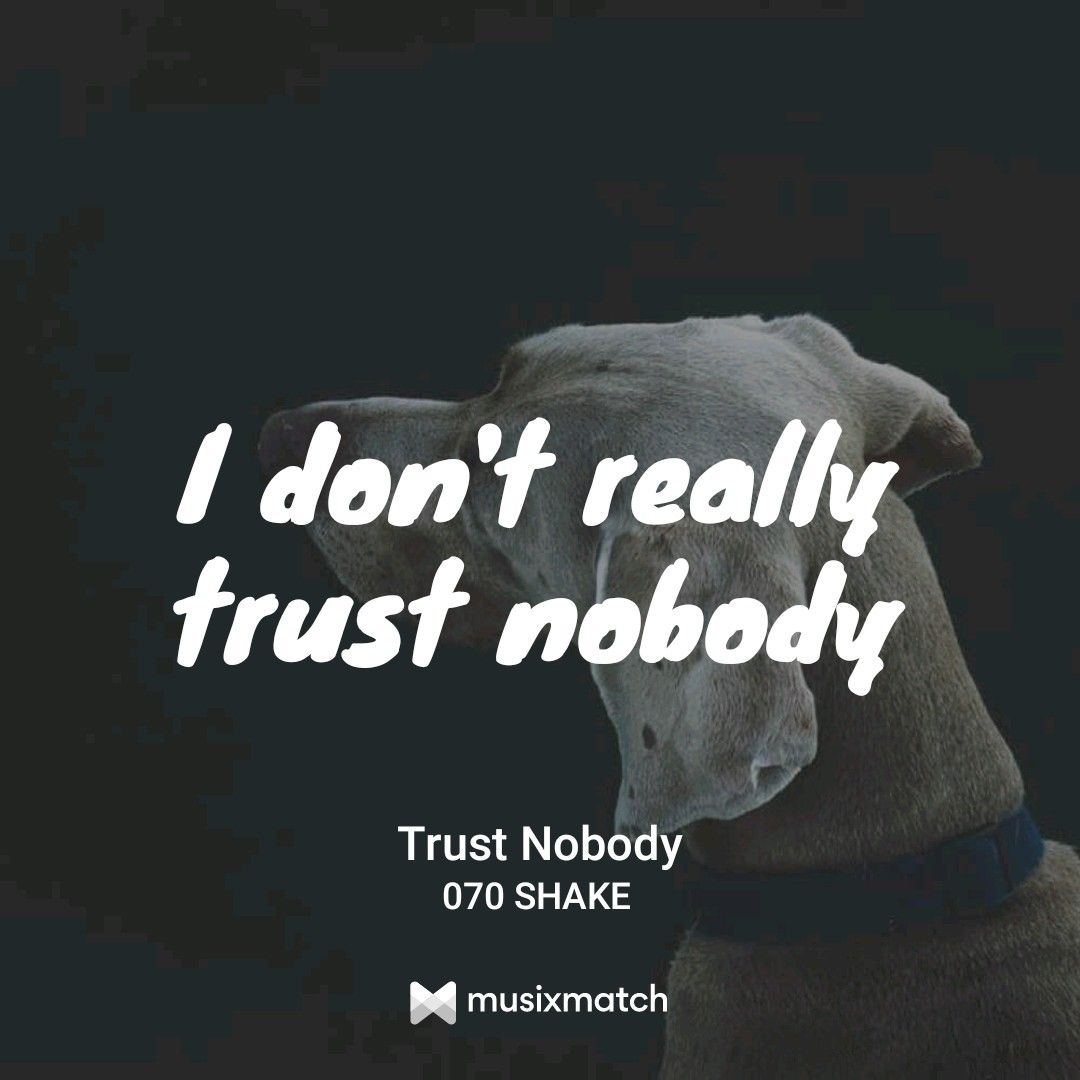 070 Shake - Trust Nobody | Lyrics | Baseball hats, Movie