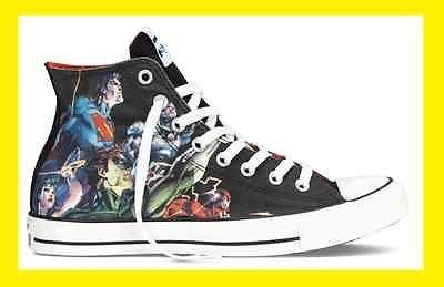 Converse Chuck Taylor ALL STAR HI Shoes Justice League DC Comics US Men  6-13 New 41eea9e4b