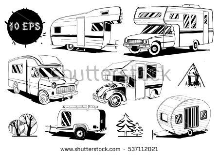 Vector illustration of Set isolated Hand Drawn, doodle