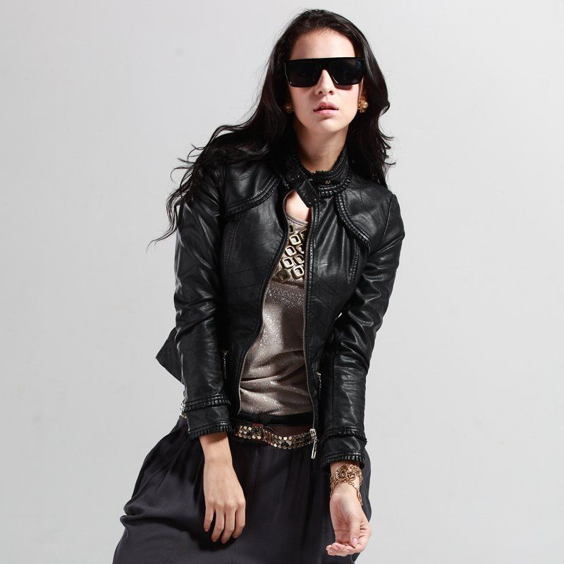 women leather jacket (22) | Women leather jackets 2016 | Pinterest ...