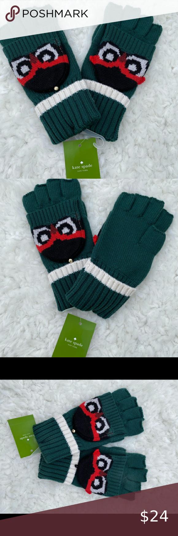 Kate Spade Fingerless Gloves In 2020 Kate Spade Fingerless Fingerless Gloves