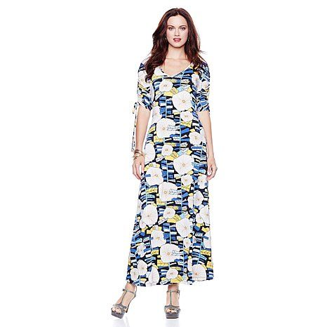 "Nikki Poulos ""Kat"" Maxi Dress - incredible the material alone is worth the $14.95 and free shipping - it is the time to buy everything she has for under $20!!!  Love you Nikki..."