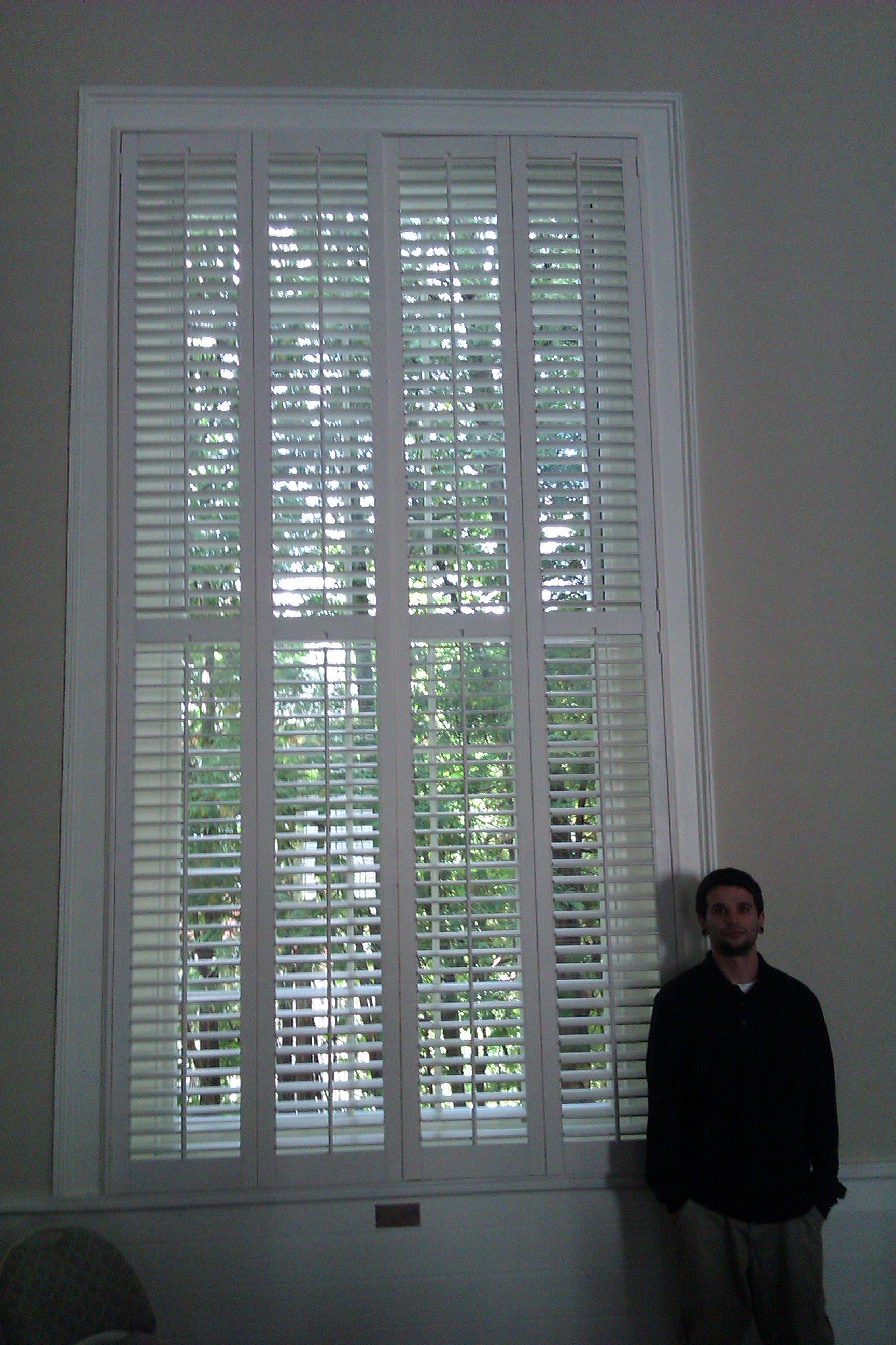 Worlds largest plantation shutters?