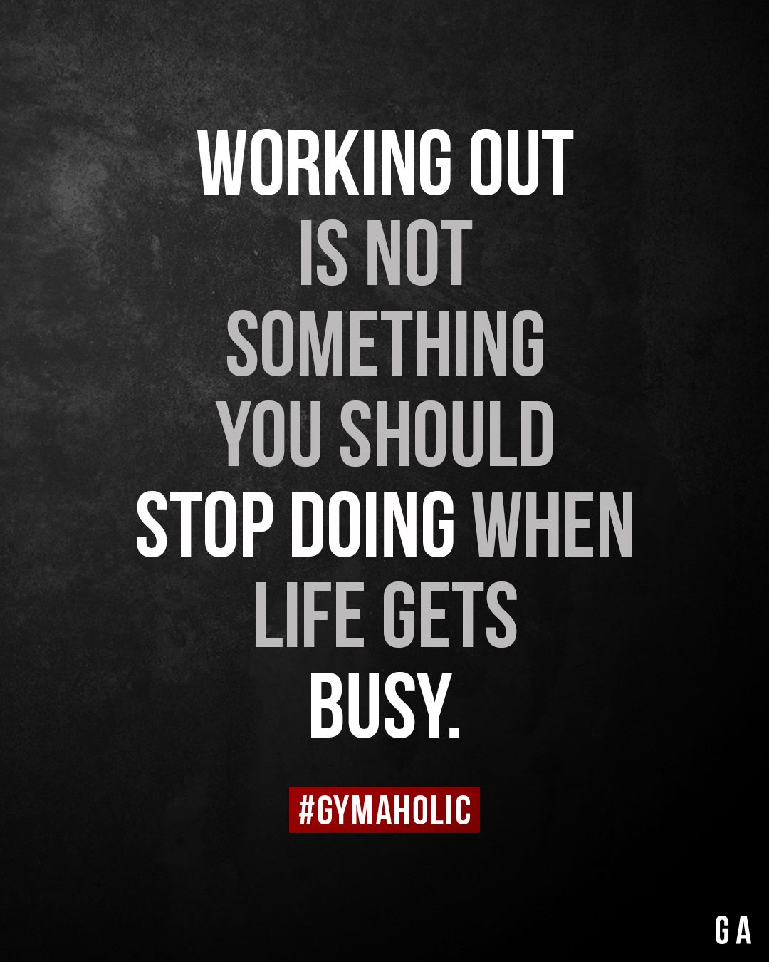 Working Out Is Not Something You Should Stop Doing When Life Gets Busy In 2020 Fitness Motivation Quotes Fitness Motivation Quotes Inspiration Motivation