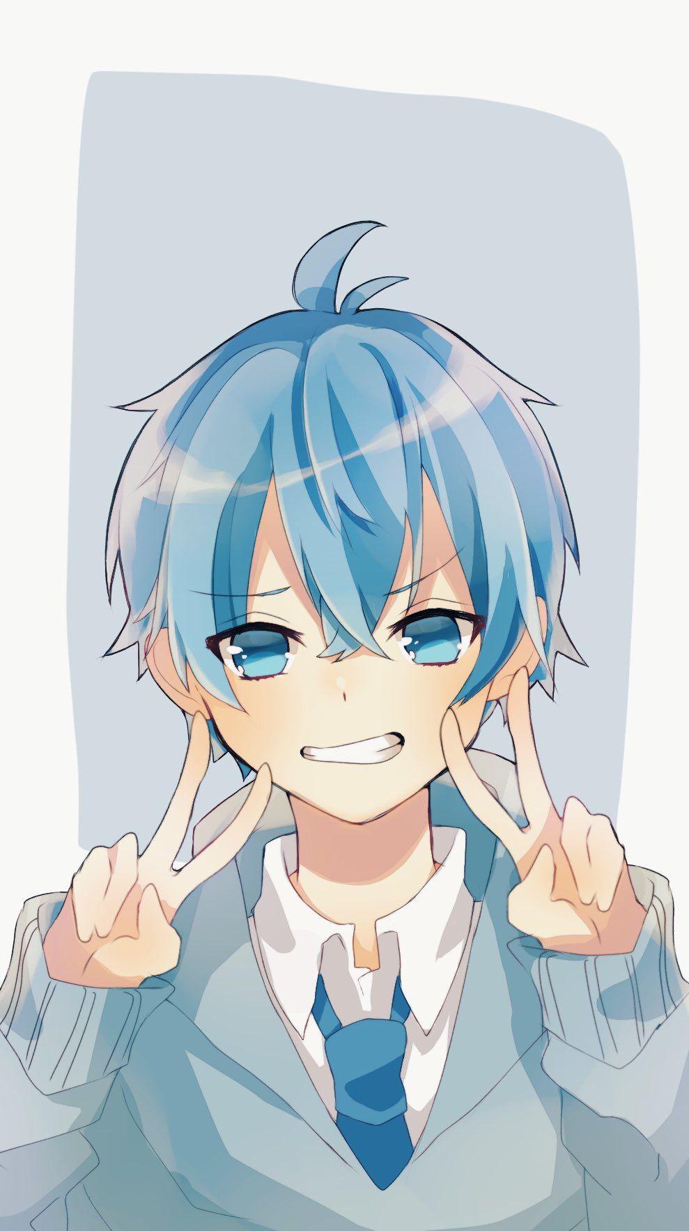 Pin By Idich On Animeforlife Anime Child Cute Anime Guys Blue Anime