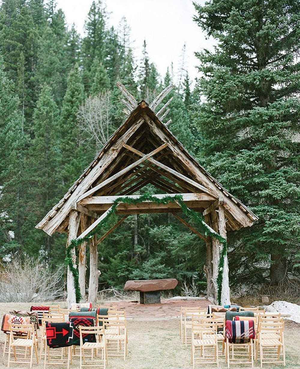 14 Open Air Chapels That Will Rival Jason Mraz S Outdoor Wedding Venue Brit Co Open Air Chapel Outdoor Wedding Venues Dunton Hot Springs