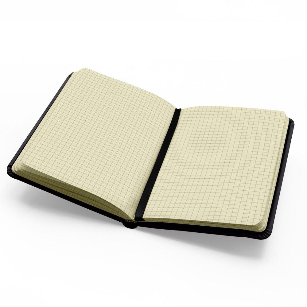 Caderno Anota Es 14x20cm Quadriculado 80 Fls Pt Ny4036 B Spiral  # Muebles Ebano Vargas