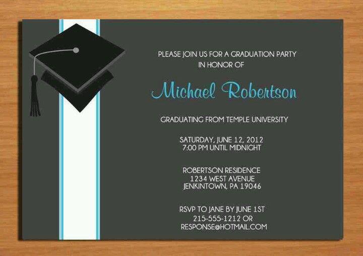 Pin On Graduation Parties