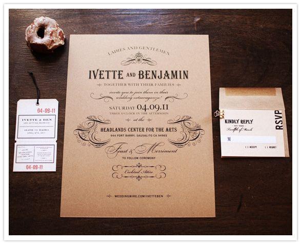 wedding invitation invitations design Pinterest California