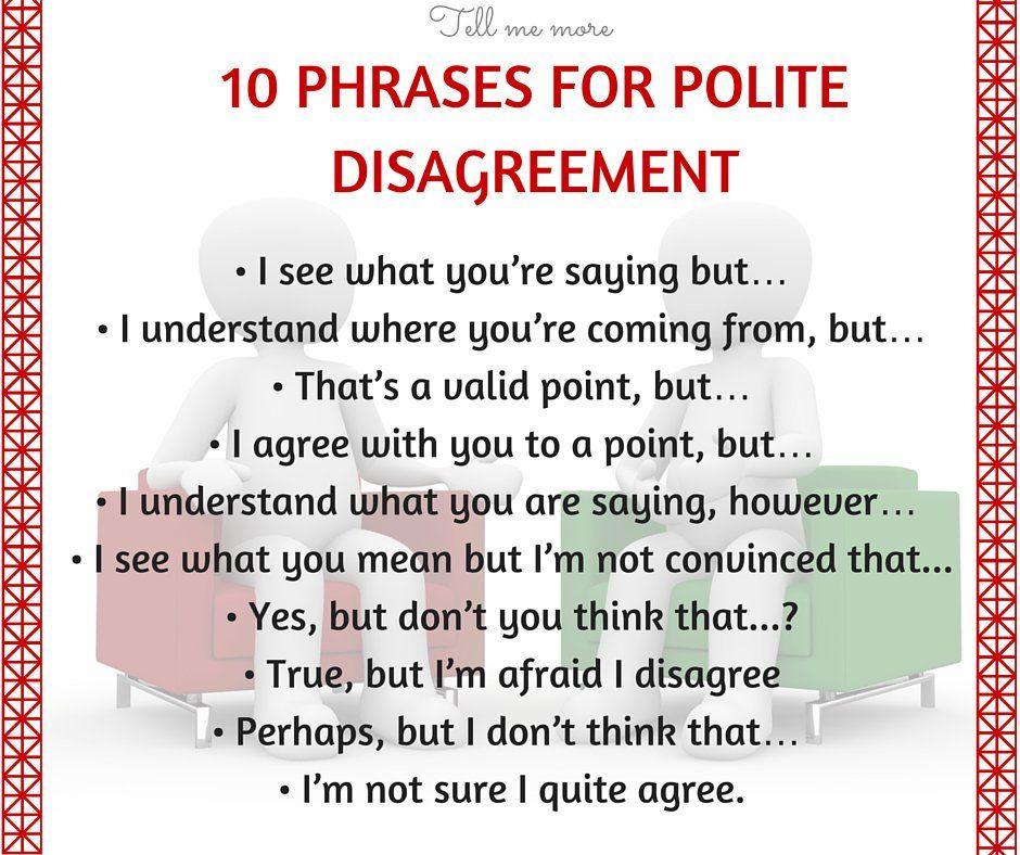 10 sentences about politeness