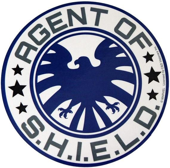Photo of AVENGERS Classic Agent of S.H.I.E.L.D Sticker Decal – Marvel Comics