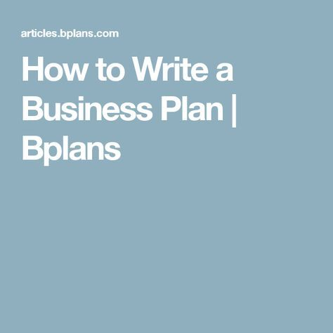 How to Write a Business Plan Updated for 2018 Business planning