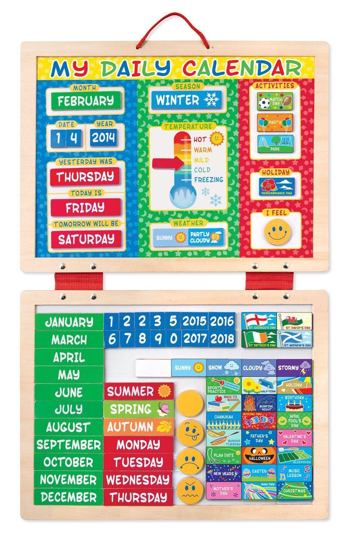 Calendario Para Kinder.Pin En Creativo
