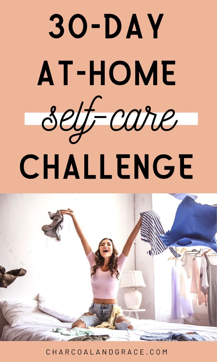 30Day AtHome SelfCare Challenge in 2020 Self care