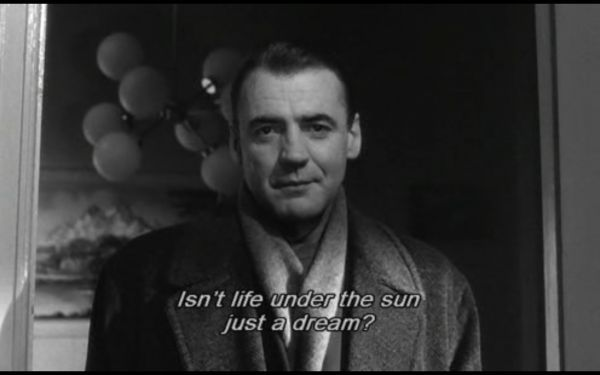 Isnt Life Under The Sun Just A Dream Bruno Ganz In Wim Wenders