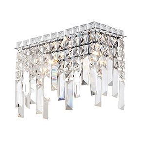 Luxuriant Crystal Wall Lights With 2