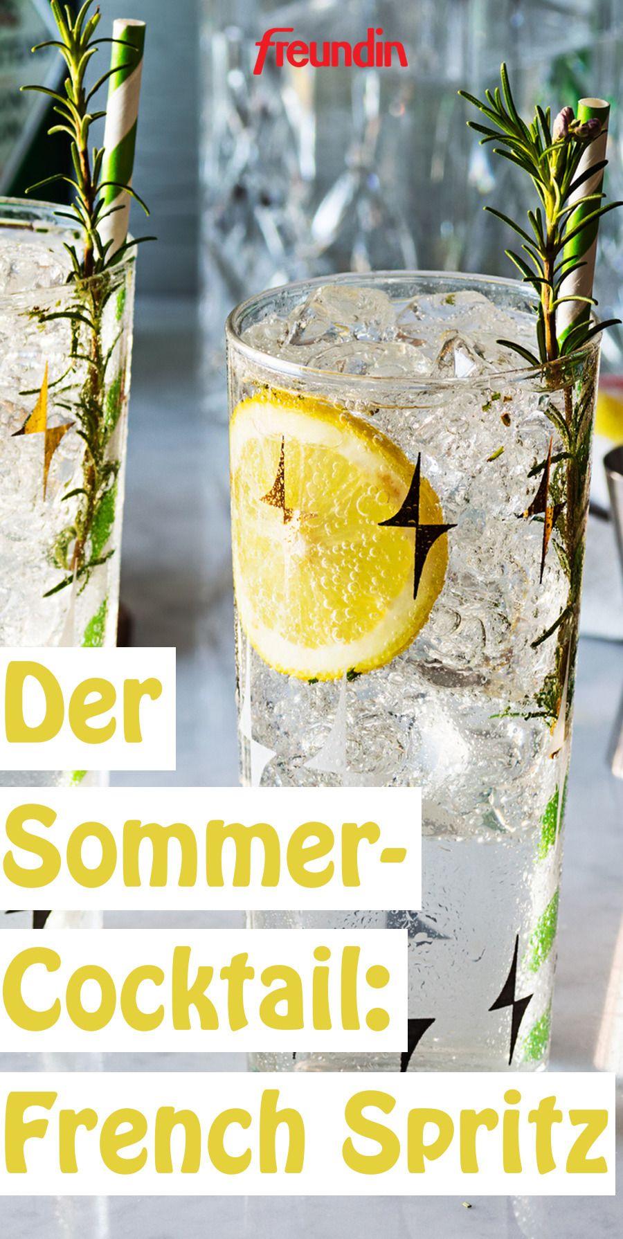 Der erfrischende French Spritz löst in diesem Sommer Aperol und Co. ab. Mit seiner fruchtigen Note passt er perfekt zu lauen Sommerabenden