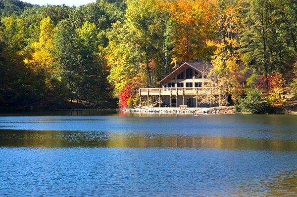 Waterfront Cabin Travel Lake Cabins Norris Lake
