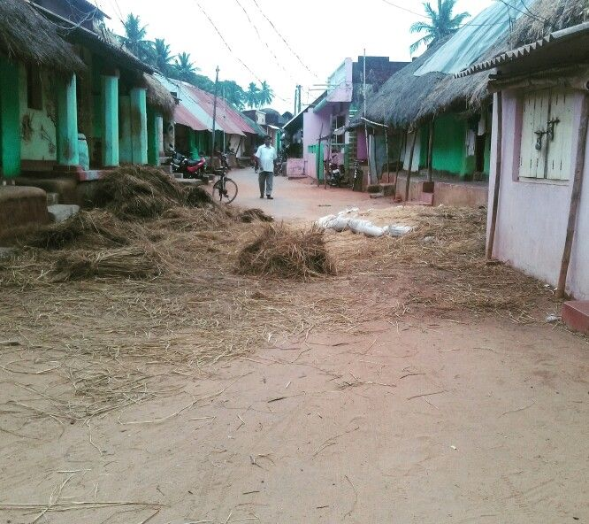 Semi pucca houses in village of Badabadhrapur, Odisha, India | Every