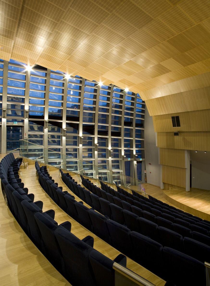 La porta del parco auditorium naples italy designer