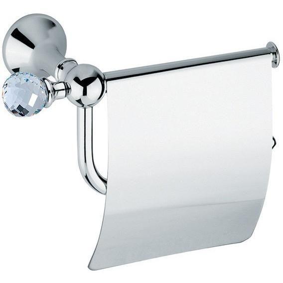 Ba Folie Swarovski Wall Toilet Paper Holder Tissue Dispenser With Lid Brass Wall Mounted Toilet Recessed Toilet Paper Holder Pedestal Toilet Paper Holder