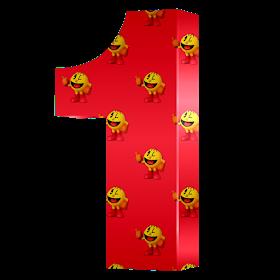 Monica Michielin Alfabetos Red Super Smash Bros Nintendo Pacman Alphabet Numbers And Icons Png Pacman Super Smash Bros Smash Bros Doodle Online
