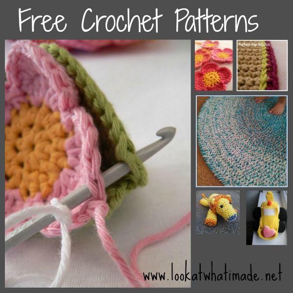 tutoriales y patrones gratis | Crochet granny squares | Pinterest ...