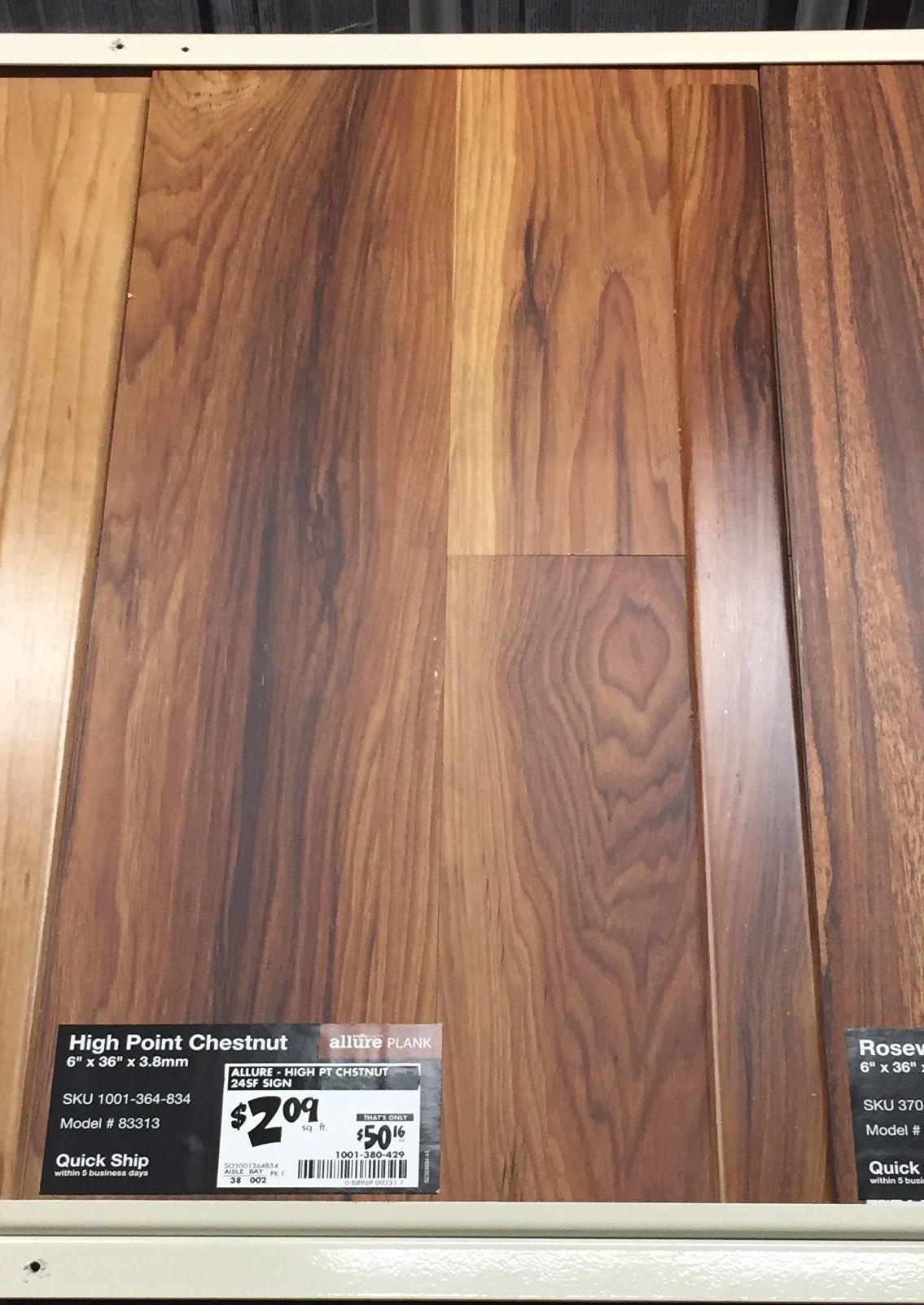 Fine 12 Ceramic Tile Tall 12X12 Floor Tiles Flat 12X24 Tile Floor 16 Ceramic Tile Youthful 16 X 24 Tile Floor Patterns Dark6X6 White Ceramic Tile $2.09 Sq Ft   Home Depot   High Point Chestnut   Allure Gripstrip ..