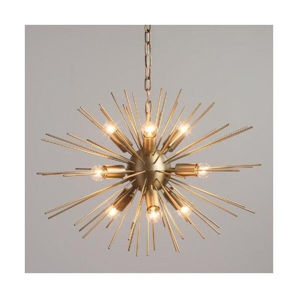 Cost plus world market brass starburst collin chandelier 250 cost plus world market brass starburst collin chandelier 250 liked on polyvore featuring aloadofball Choice Image
