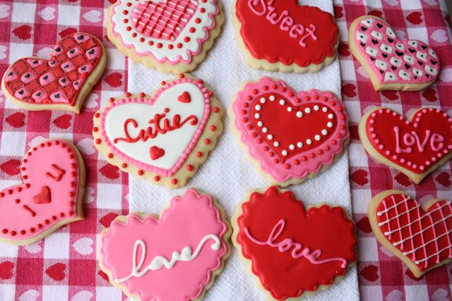 Valentines Cookies Cute,fun,and Easy To Make. You Will Need Sugar Cookies  Editable Balls Frosting. Perfect For Any Event.