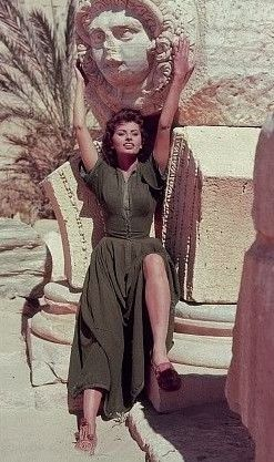 sophia loren, legend of the lost, 1957