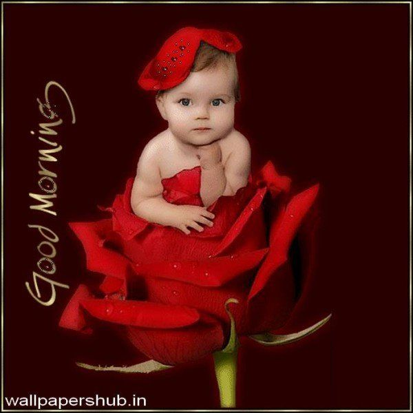 Good morning baby photos free download