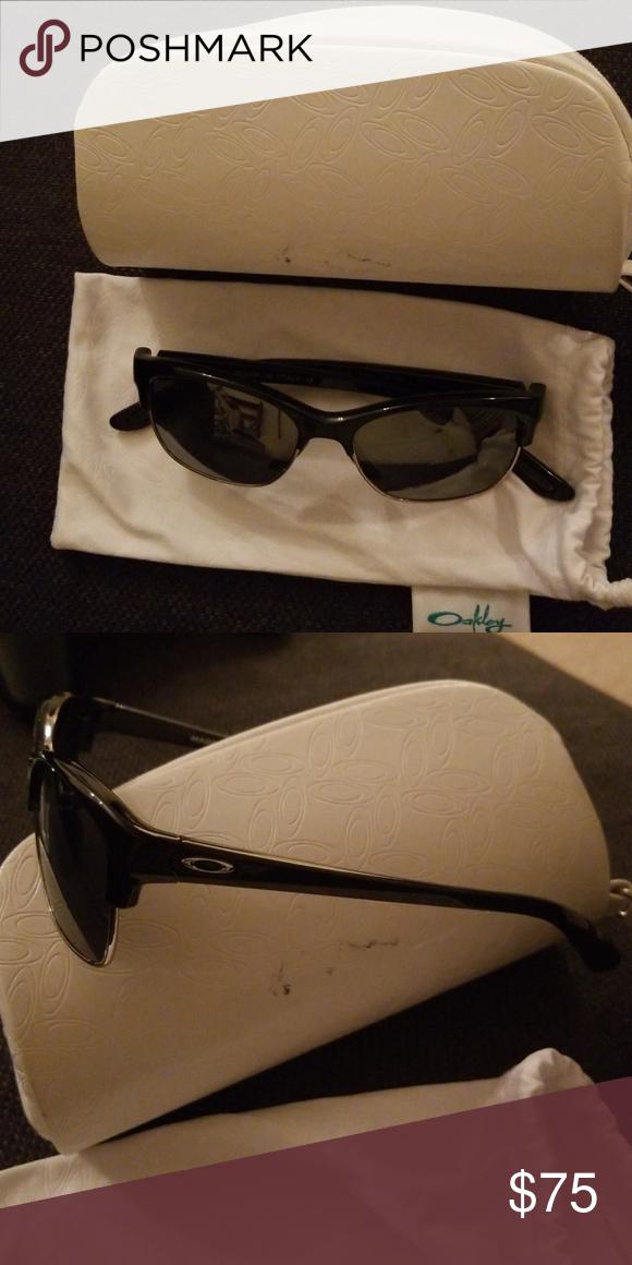 32adbc957b1 Oakley Women s Polarized RSVP Sunglasses Plastic upper frame