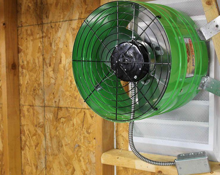 Quietcool 1560 Cfm Energy Saving Gable Attic Fan Attic Fan Fan