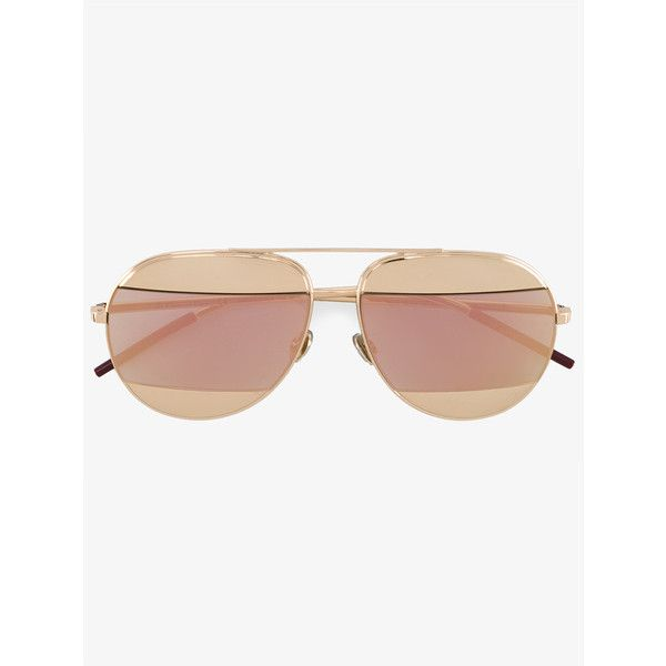37e2dada47daf Christian Dior Aviator Sunglasses (595 AUD) ❤ liked on Polyvore featuring  accessories