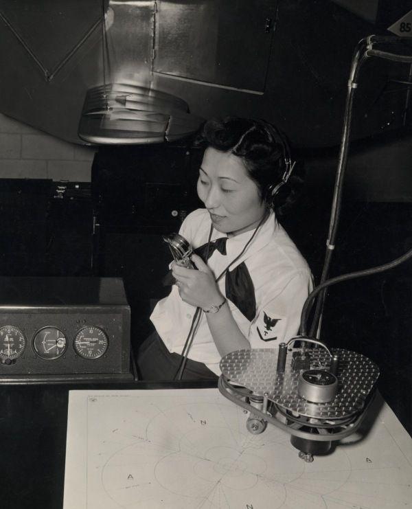 Susan Ahn Cuddy, 1st Korean American WAVE