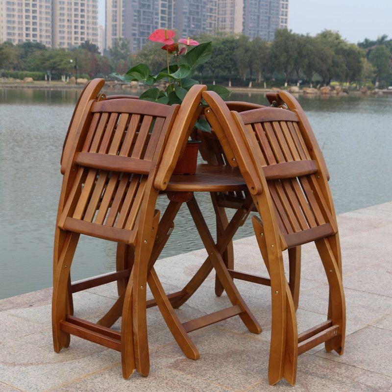 Wood Patio Furniture Sets Wood patio furniture, Garden